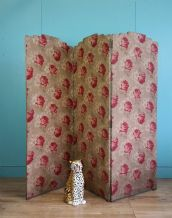 Antique folding screen - SOLD